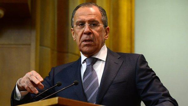 Глава МИД России Сергей Лавров. Архивное фото