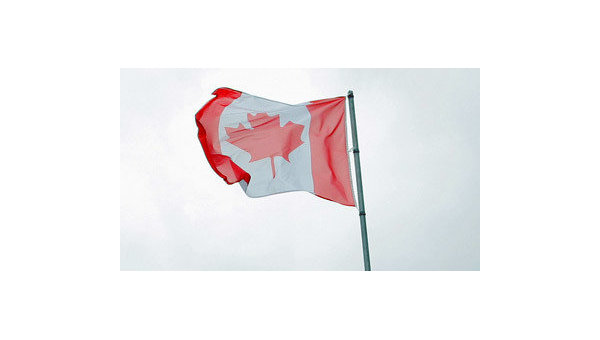 Флаг Канады. Архивное фото