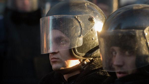 Сотрудники правоохранительных органов МВД Украины. Архивное