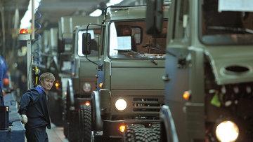 Автомобильный завод ОАО КАМАЗ, архивное фото