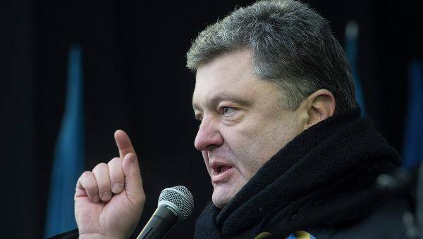 Украинский бизнесмен, владелец группы Рошен Петр Порошенко. Архивное фото
