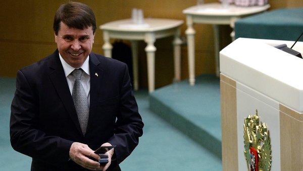 Сенатор Сергей Цеков. Архивное фото