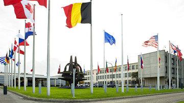 Здание штаб-квартиры НАТО в Брюсселе