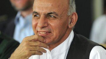 Афганский политический деятель Ашраф Гани Ахмадзай. Архивное фото