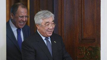 Министр иностранных дел Казахстана Ерлан Идрисов. Архивное фото