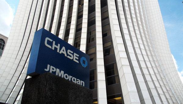 Банк JP Morgan Chase . Архивное фото