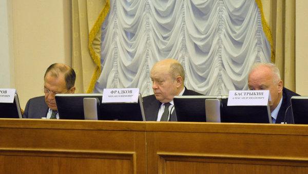 Заседание Национального антитеррористического комитета (НАК). Архивное фото