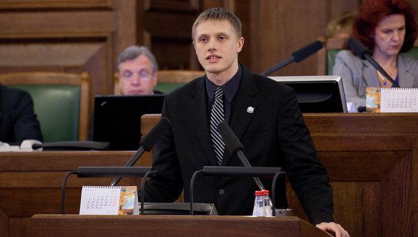 Секретарь комиссии по национальной безопасности Сейма Латвии Янис Домбрава