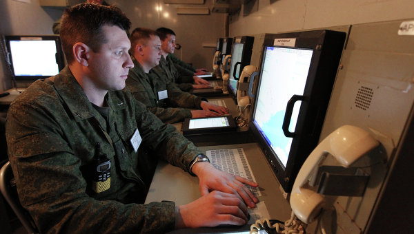 Военнослужащие. Архивное фото