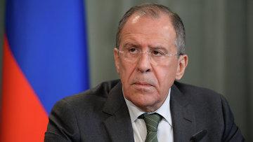Министр иностранных дел РФ Сергей Лавров. Архивное фото