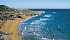 Пляж Кала-Бланка в Испании