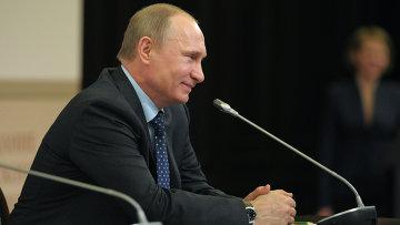 Владимир Путин участвует в заседании попечительского совета РГО. Архивное фото