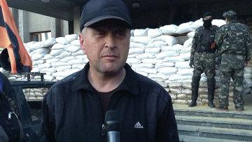 Народный мэр Славянска Вячеслав Пономарев. Архивное фото