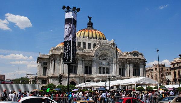 Дворец изящных искусств в Мехико. Архивное фто