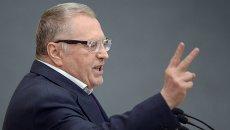 Лидер ЛДПР Владимир Жириновский . Архивное фото