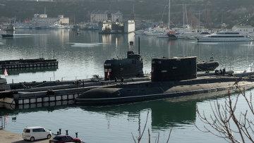 Подлодка Запорожье ВМС Украины в Севастополе. Архивное фото