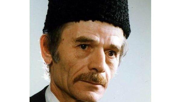 Депутат Верховной рады Украины Мустафа Джемилев