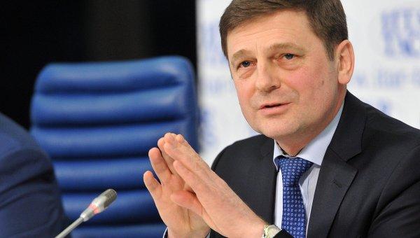 Руководитель Федерального космического агентства Олег Остапенко. Архивное фото