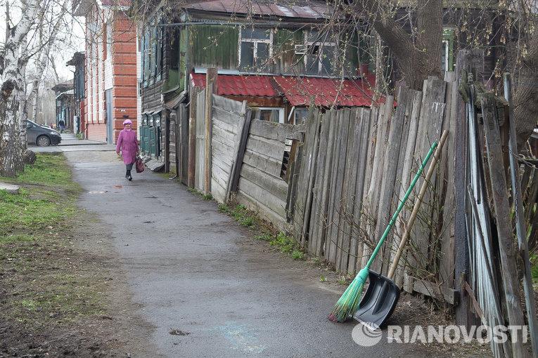 Общегородской субботник в Томске 26 апреля