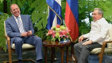 Рабочий визит главы МИД России С.Лаврова на Кубу