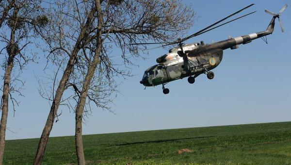Вертолет Ми-8 вооруженных сил Украины, архивное фото