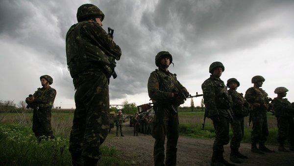 Ситуация на Украине, май 2014 года