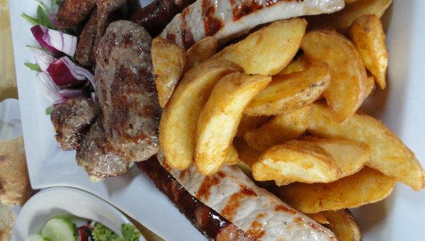Мясо с мангала