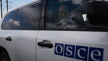 Военные наблюдатели ОБСЕ. Архивное фото