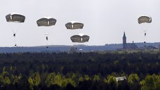 Совместные учения американских и канадских военных в Польше