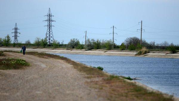 Северо-Крымский канал, архивное фото