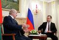 Д.Медведев встретился с А.Лукашенко