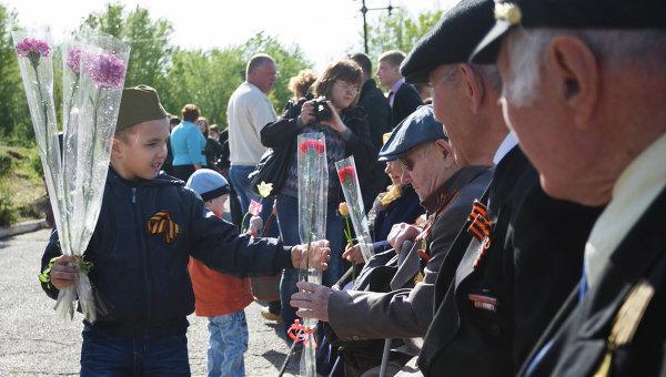 Празднование Дня Победы в регионах России. Архивное фото