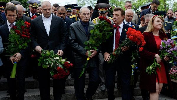 Мероприятия в честь Дня Победы в Одессе
