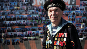 Ветеран Великой Отечественной войны, архивное фото
