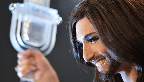 Кончита Вурст (Австрия) - победитель международного конкурса песни Евровидение-2014