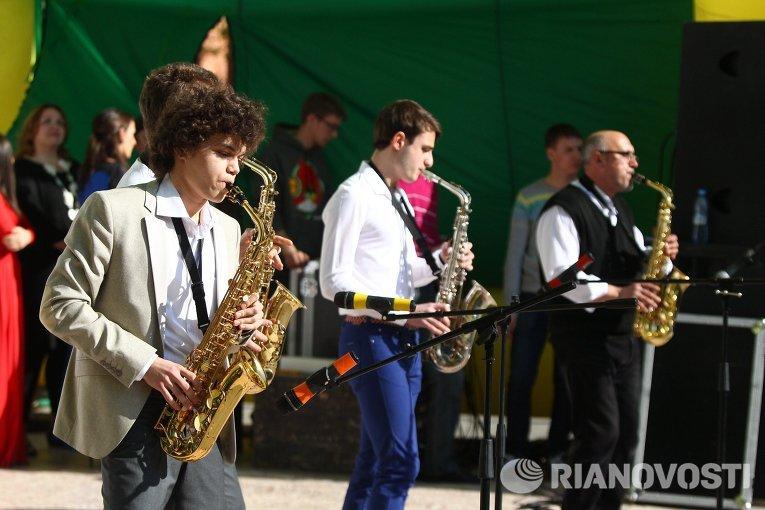 Концерт в честь 118-ой годовщины Томского политехнического университета