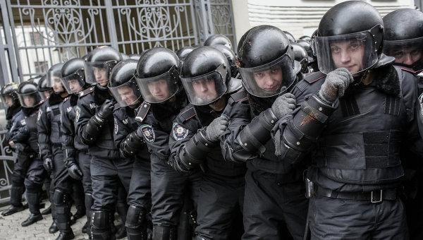 Бойцы спецслужб Украины. Архивное фото