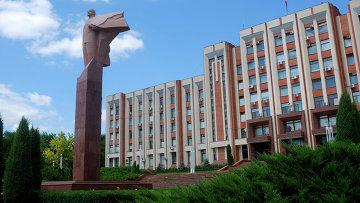 Памятник Ленину в Тирасполе, Приднестровье. Архивное фото