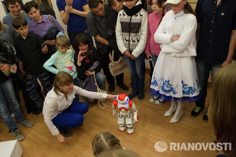 Акция Ночь в музее в Томском политехническом университете
