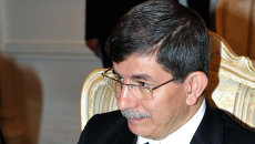 Министр иностранных дел Турции Ахмет Давутоглу. Архивное фото