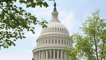 Здание Капитолия в Вашингтоне, архивное фото
