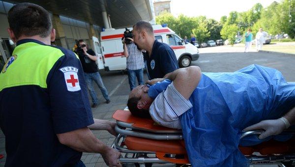 Пострадавшие при столкновении поездов в Подмосковье доставлены в Москву