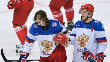 Игроки сборной России по хоккею. Архивное фото