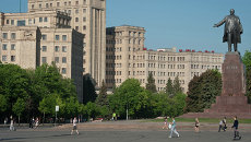 Украина. Харьков. Архивное фото