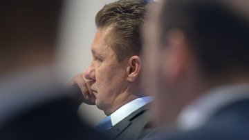 Председатель правления ОАО Газпром Алексей Миллер, архивное фото.