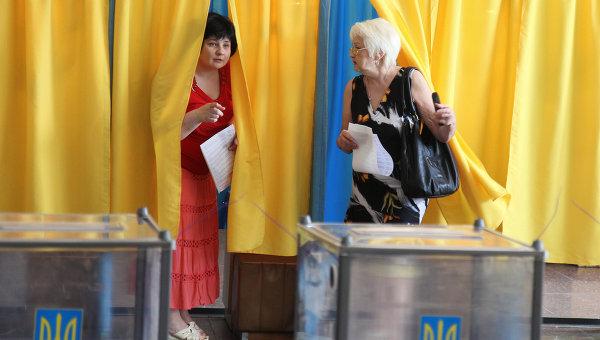 Внеочередные выборы президента Украины. Архивное фото