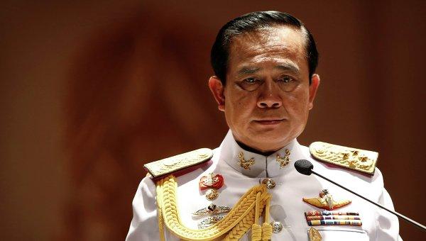 Руководитель военного переворота в Таиланде генерал Прают Чан-Оча
