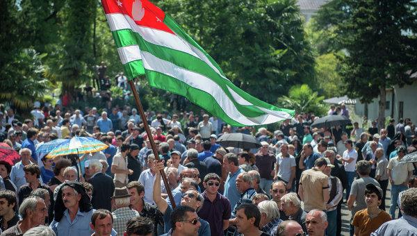 Ситуация в Абхазии. Архивное фот