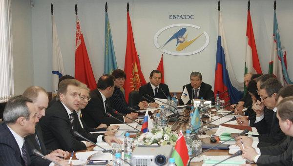 Заседание Комиссии ЕврАзЭС. Архивное фото