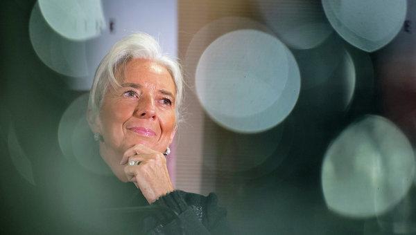 Директор-распорядитель МВФ США Кристин Лагард, архивное фото